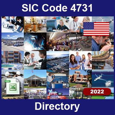 SIC Code 4731 Directory | Arrangement of Transportation of